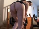 Vidéo porno mobile : French gothic girl sets fire her cam